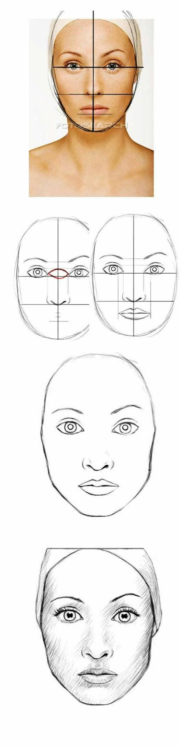 step by step tutorial, how to draw a cartoon person, how to draw a face