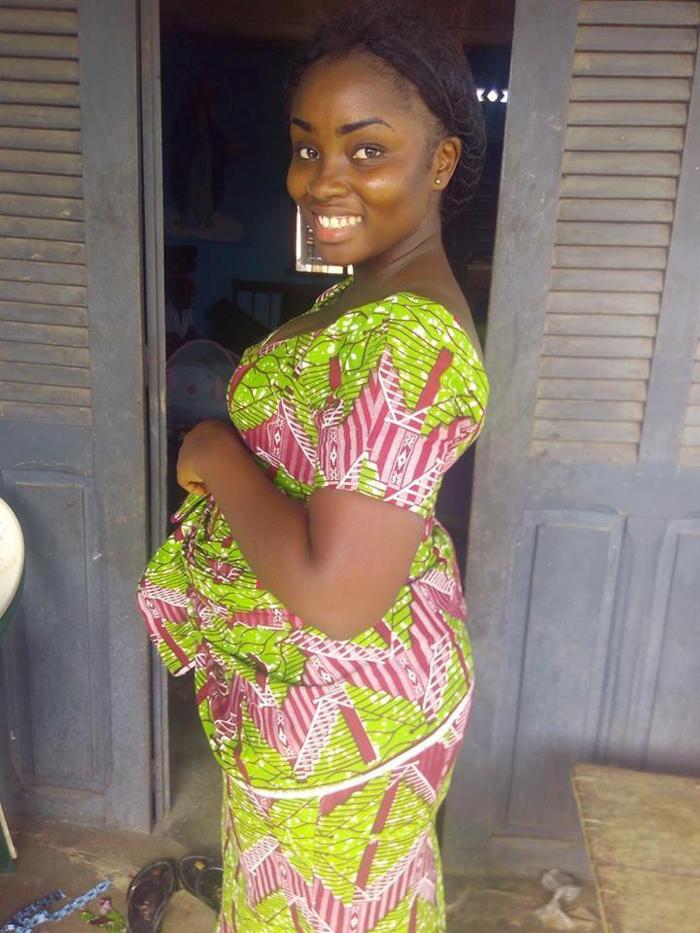 long dress, black braided hair, african attire for women, wooden background