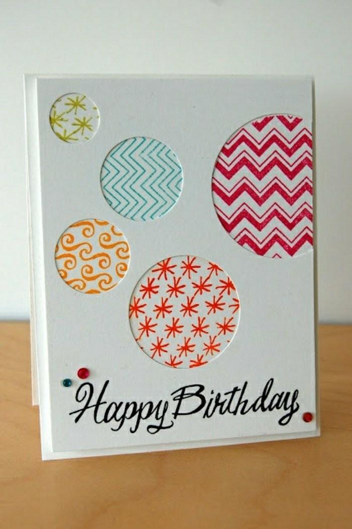 colourful baubles, happy birthday inscription, birthday card ideas for mom, wooden table