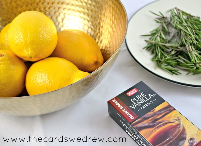 ingredients for air freshener, diy tutorial, step by step, best housewarming gifts