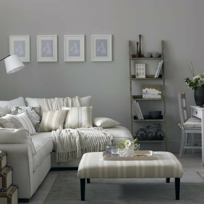 Grey Sofa White Walls: 1001 + Ideas For A Chic Gray And White Living Room