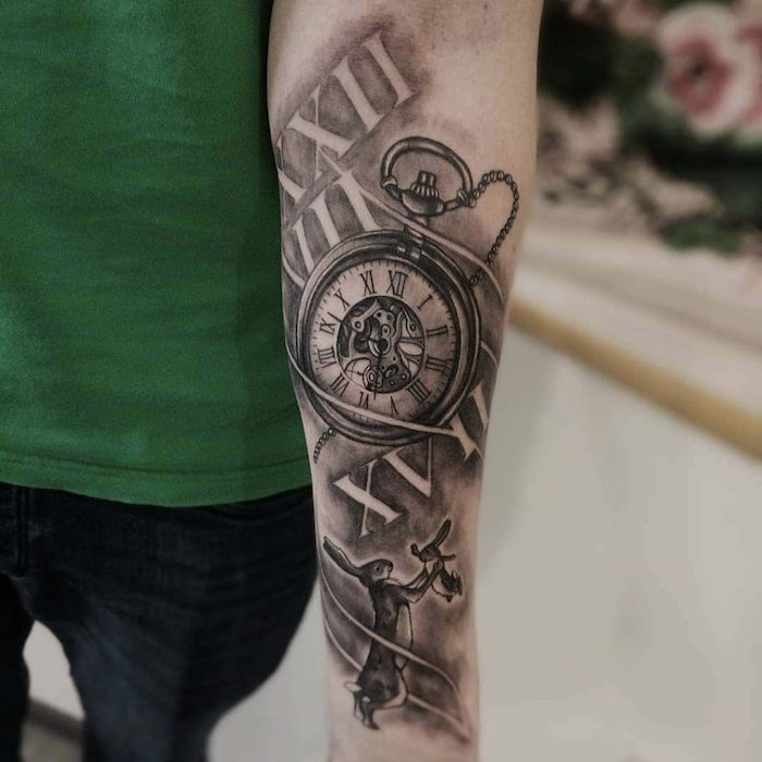 1001 + Ideas For A Simple But Meaningful Roman Numeral Tattoo