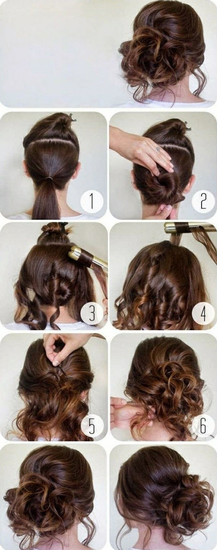 step by step, diy tutorial, black hair, in a low messy updo, hairstyles for homecoming