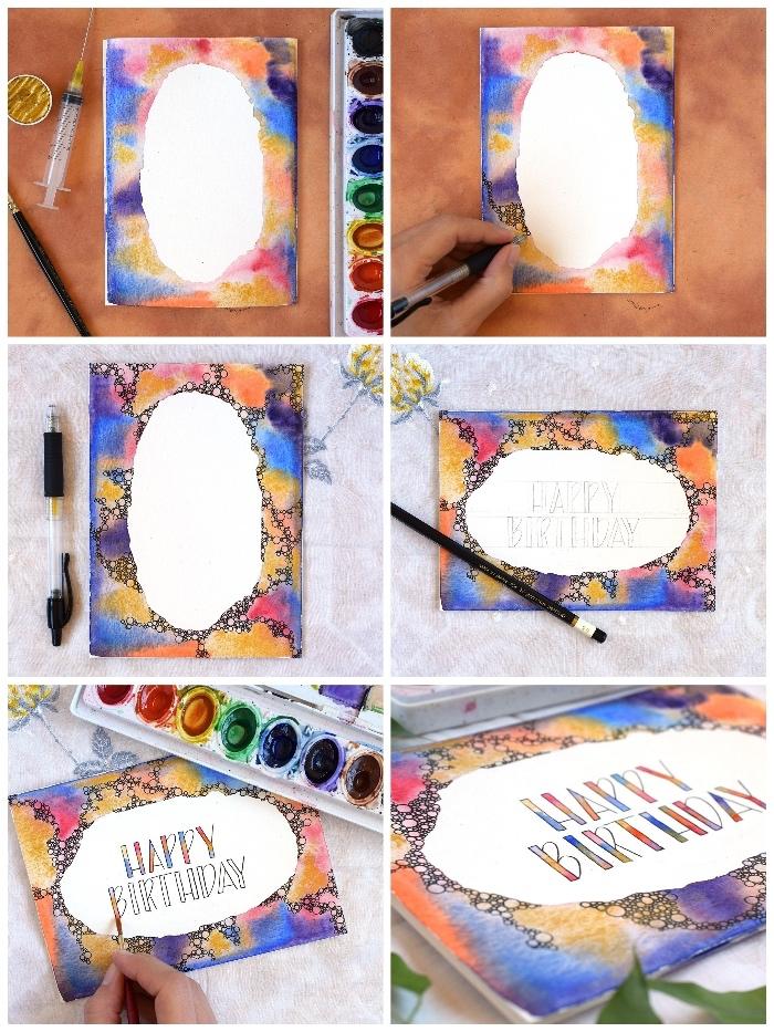 1001 + Ideas on how to design DIY birthday cards