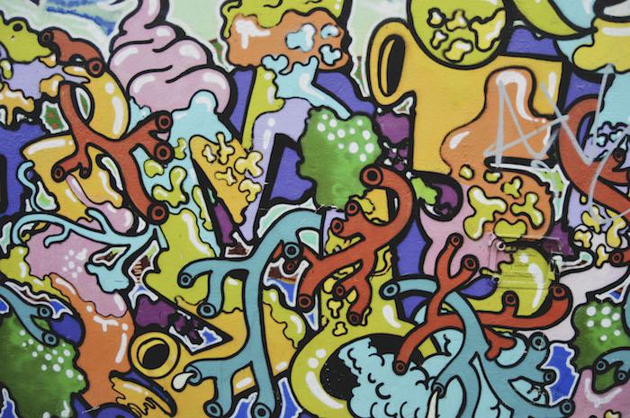 pop art, tumblr lockscreens, colourful graffiti drawing