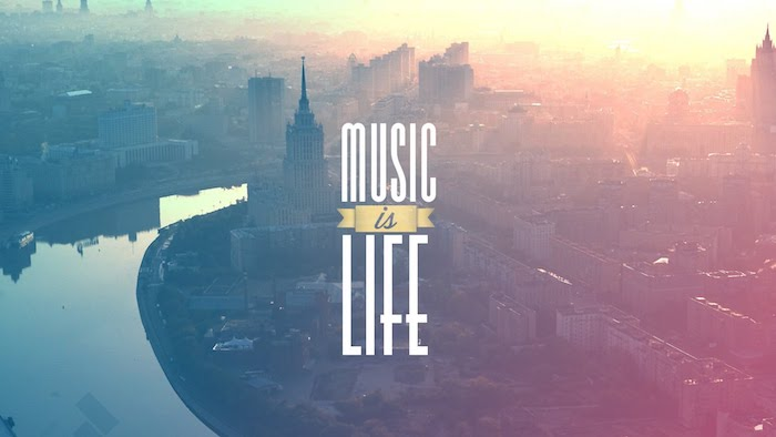 music is life, tumblr desktop backgrounds, city landscape, river going through the city