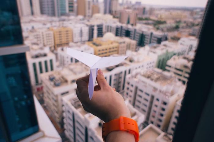 paper plane, orange watch, cool backgrounds tumblr, city landscape