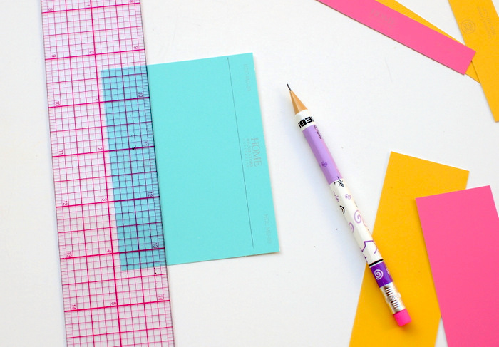colourful paper, preschool activities, step by step, diy tutorial, large ruler, white backgorund