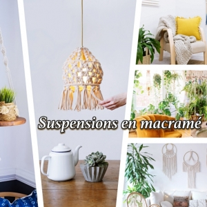 127 techniques and ideas for making a macrame wall hanging decoration