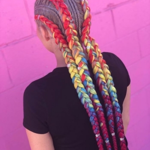 Ghana braids for summer 2019 - the perfect solution to fight the heat and look stunning