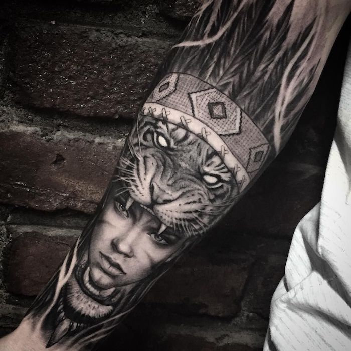 5f3d886ab ▷ 1001+ Ideas and inspirations for cool forearm tattoos