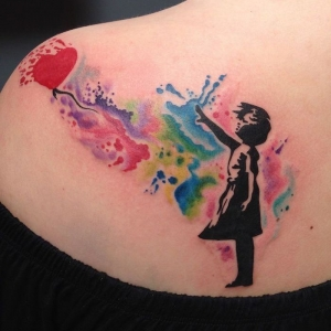 100 examples of a watercolor tattoo you can steal