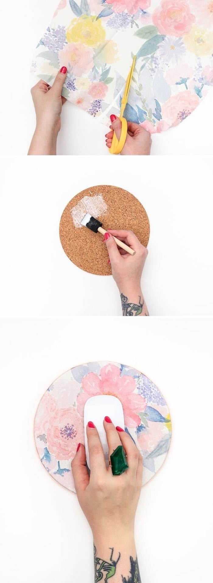 decoupage paper, what to do when your bored for kids, mouse pad, large emerald ring
