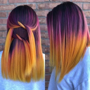 Ombre hair ideas for a cool and fun summer look