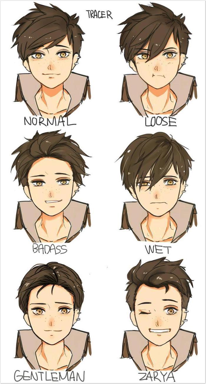 Fantastic How To Draw Anime Step By Step Tutorials And Pictures Natural Hairstyles Runnerswayorg