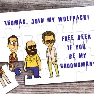 Fun and thoughtful groomsmen gift ideas to surprise your wolf pack with