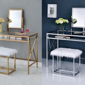 Create your own beauty salon at home with these makeup vanity ideas