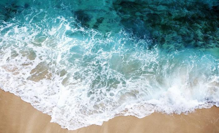 ocean waves, cute summer wallpapers, beach sand