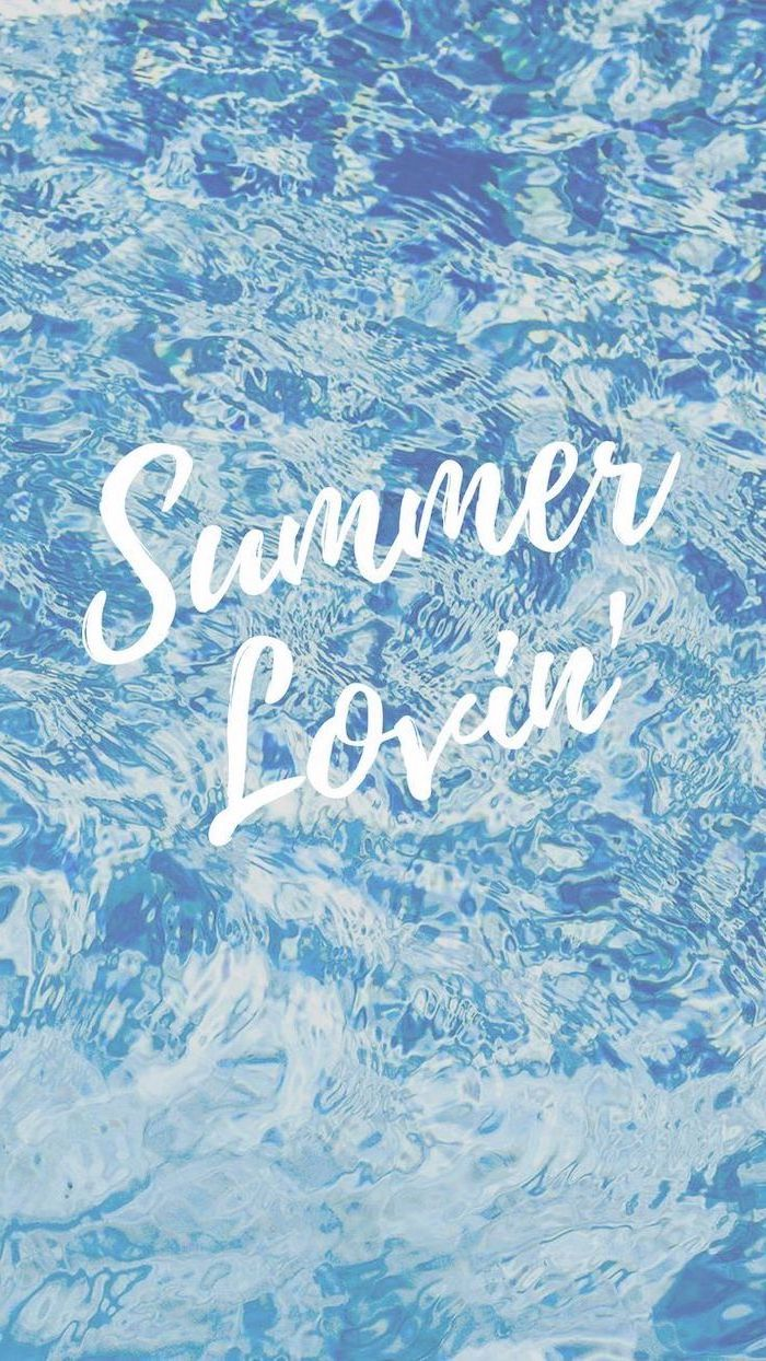 summer lovin, summer wallpaper, blue pool water