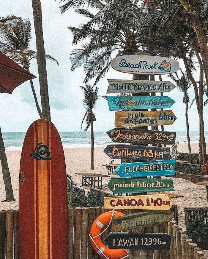 wooden signs, wooden tables and chairs, cute computer backgrounds, surf board, leaning on a wooden fence