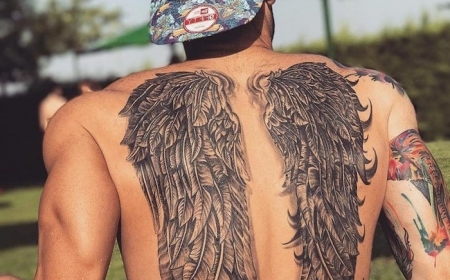 1001 Ideas For A Beautiful And Meaningful Angel Wings Tattoo