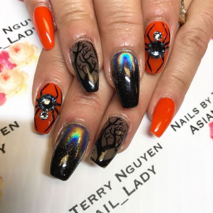 1001 Ideas For Awesome And Spooky Halloween Nails