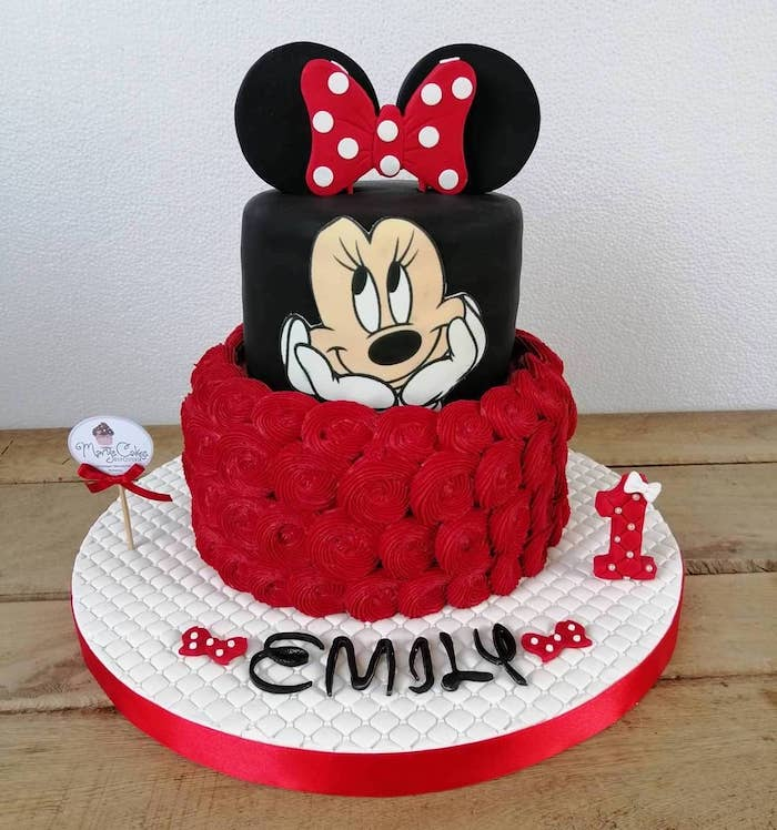 Terrific Minnie Mouse Cake Pan Funny Birthday Cards Online Barepcheapnameinfo