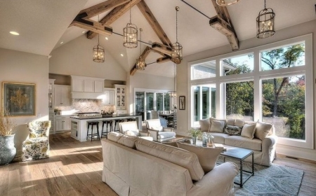 1001 Ideas For A Vaulted Ceiling To Create An Airy Spacious Home