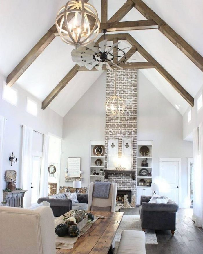 1001 + ideas for a vaulted ceiling to create an airy ...