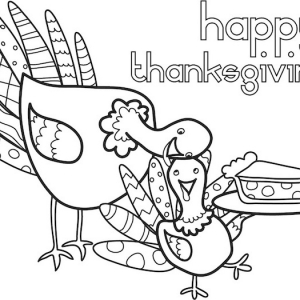56 Thanksgiving coloring pages to entertain your guests around the table