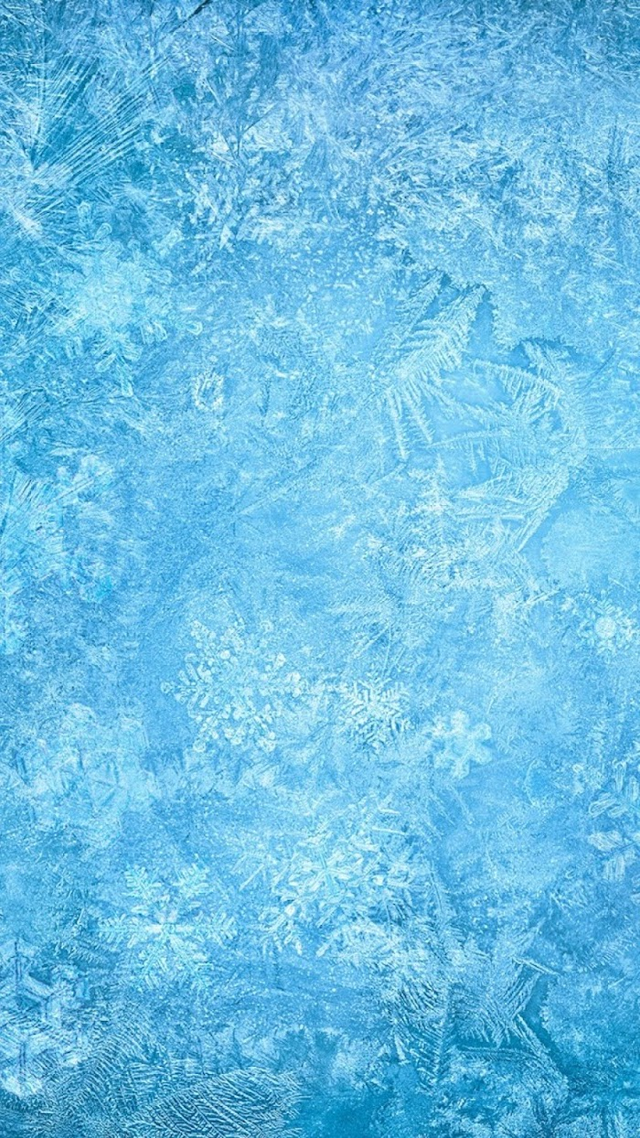 frozen ice, snowflakes in the ice, free wallpapers and backgrounds, blue icy aesthetic