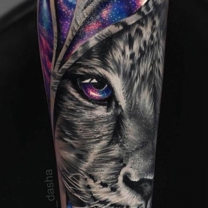 75 examples of a lion tattoo to awaken your inner strength