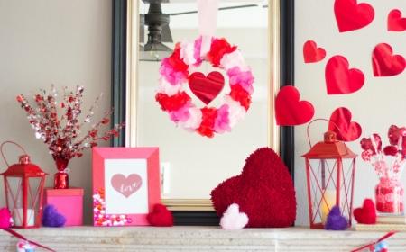 1001 Ideas For A Wonderful Valentine S Day Decor To Try,Upper Corner Kitchen Cabinet Organization Ideas