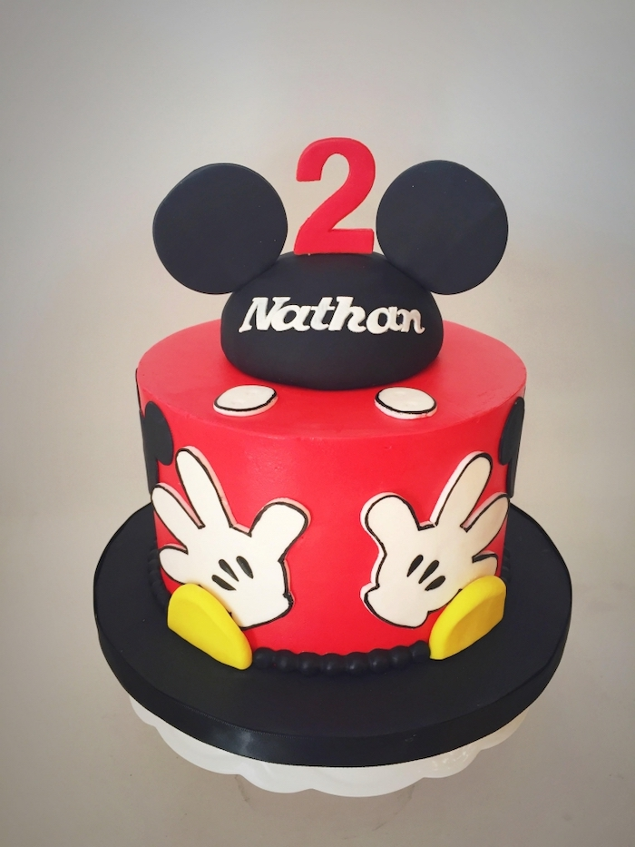1001 Ideas For A Mickey Mouse Cake For Die Hard Disney Fans