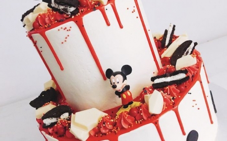 Awesome 1001 Ideas For A Mickey Mouse Cake For Die Hard Disney Fans Personalised Birthday Cards Vishlily Jamesorg