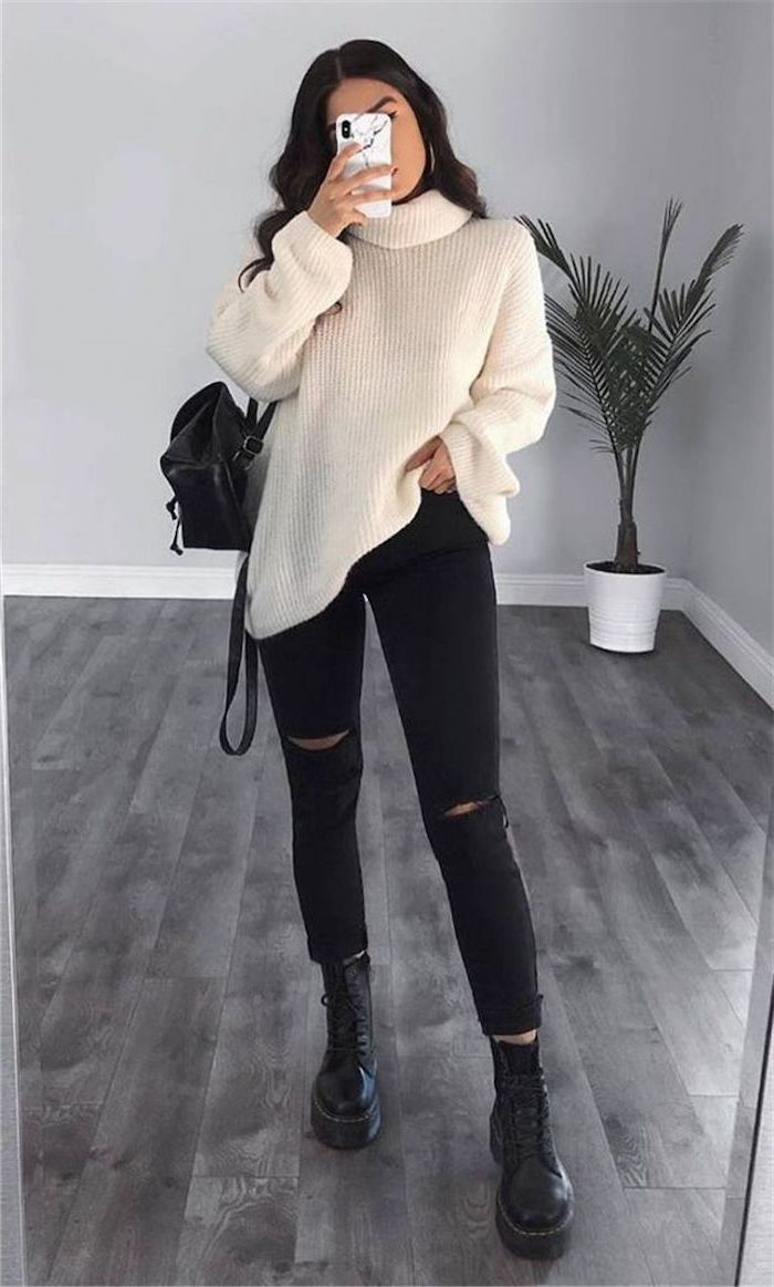 ▷ 7+ ideas for trendy and cute outfits for school