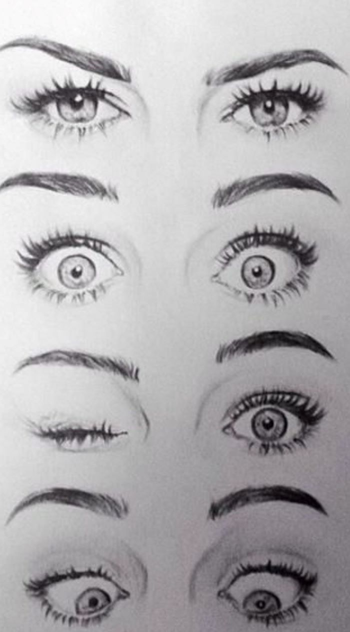 1001 Ideas On How To Draw Eyes Step By Step Tutorials And