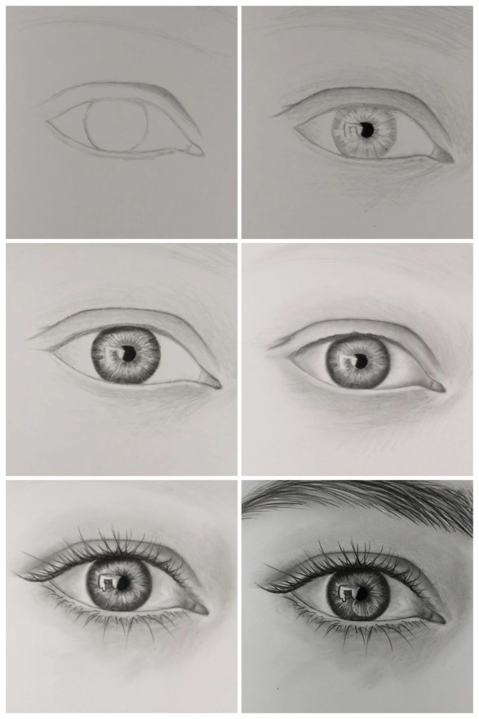 1001 Ideas On How To Draw Eyes Step By Step Tutorials And Pictures