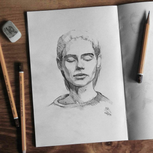 What to draw when bored - 70+ ideas and examples