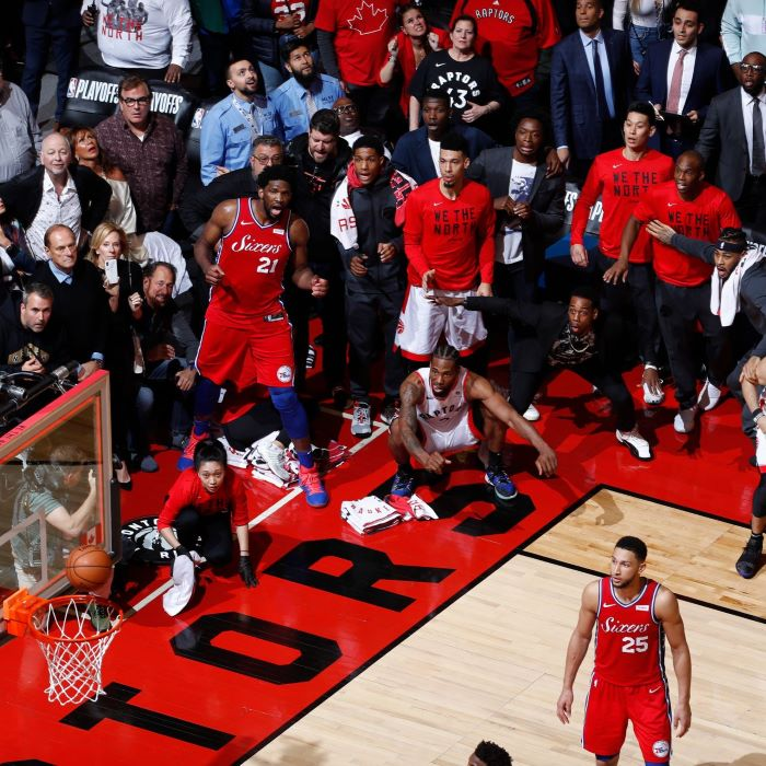 kawhi leonard hitting the shot, game 7 winning shot, basketball wallpaper, toronto raptors vs philadelphia 76ers