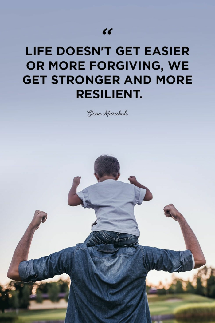 background photo of son and father, quotes about hope for the future, steve maraboli quote