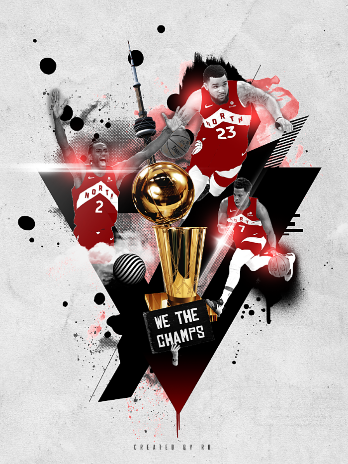 toronto raptors photo edit, larry o brien trophy, basketball wallpaper, kyle lowry, kawhi leonard, fred vanvleet