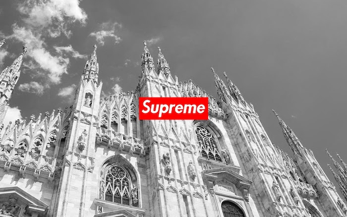 duomo di milano black and white photo for background cool supreme wallpapers supreme logo in red and white