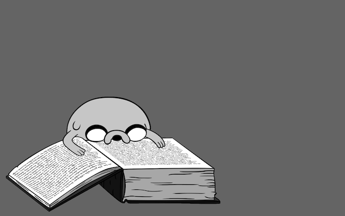 jake adventure time reading a book funny wallpapers black and white background