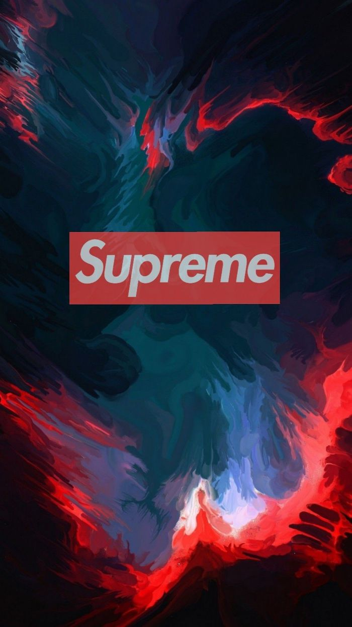 supreme logo in red and white supreme wallpaper hd abstract background in blue green red and purple