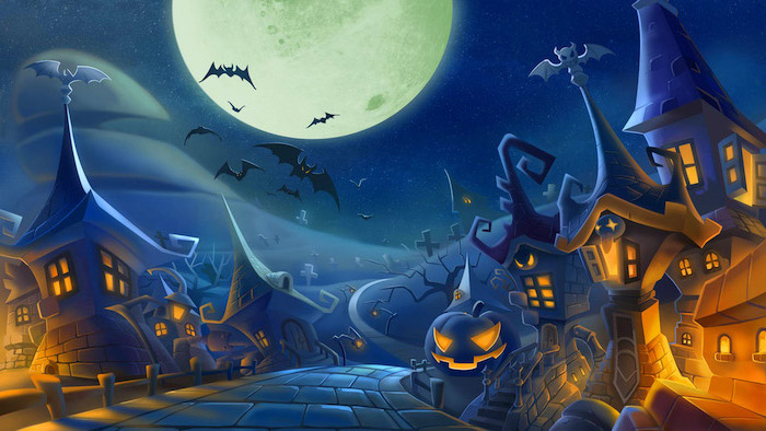 Halloween Wallpaper To Celebrate The Spookiest Holiday Of The Year Architecture Design Competitions Aggregator