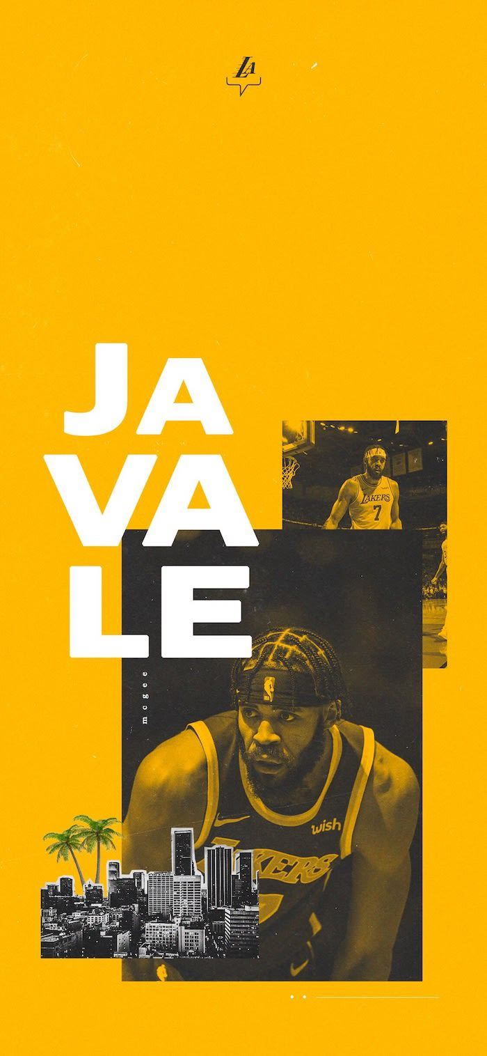 javale mcgee wallpaper best basketball wallpapers photos from the court photo collage on yellow background