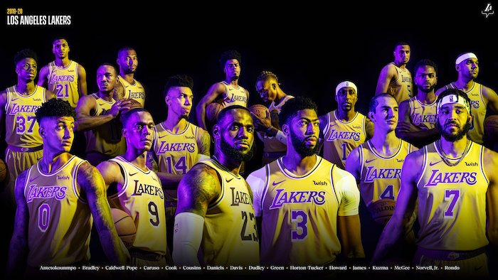 1001 Ideas For A Celebratory Lakers Wallpaper