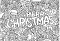 50 Christmas Coloring Pages For Kids to Keep Them Occupied