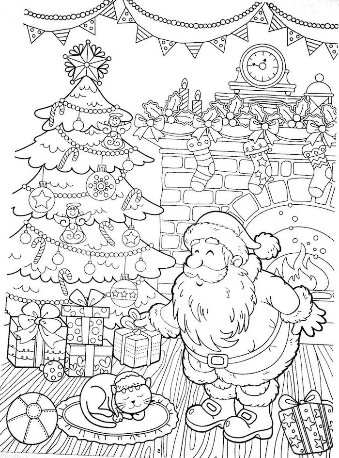 1001+ ideas for christmas coloring pages for kids